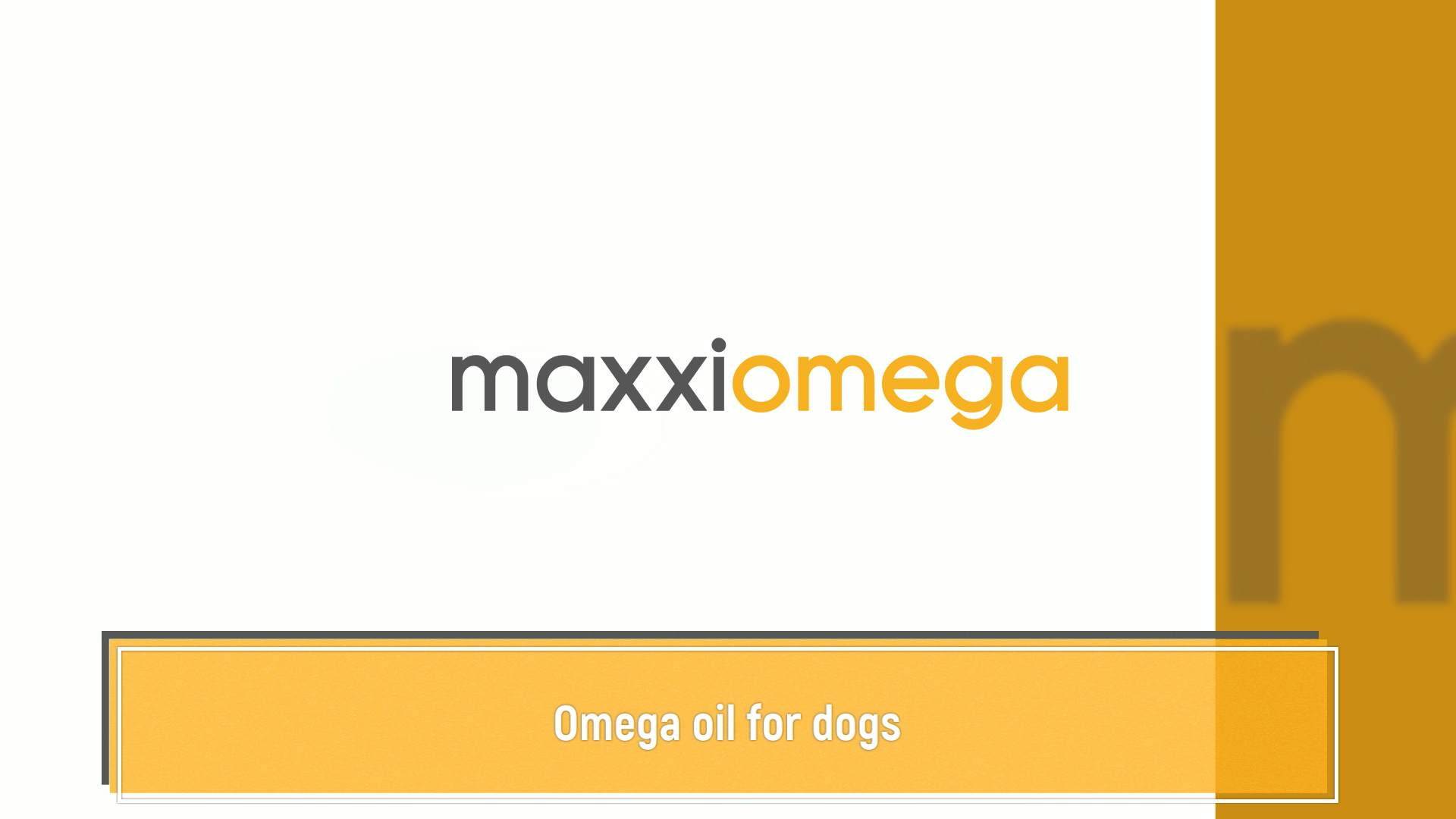 Canine fatty acids fish oil and vegtable oil